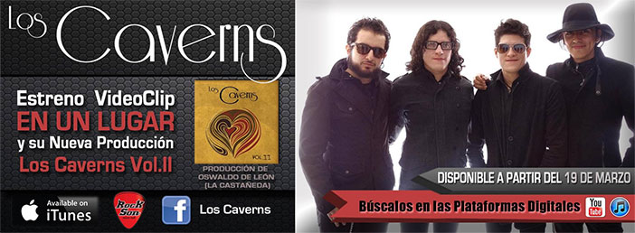 LOS CAVERNS estrenan disco y video-clip en plataformas digitales
