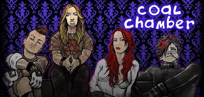 Coal Chamber estrena disco en el lunario en DF