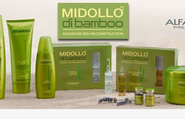 Reconstrucción duradera del cabello dañado – Midollo di Bamboo