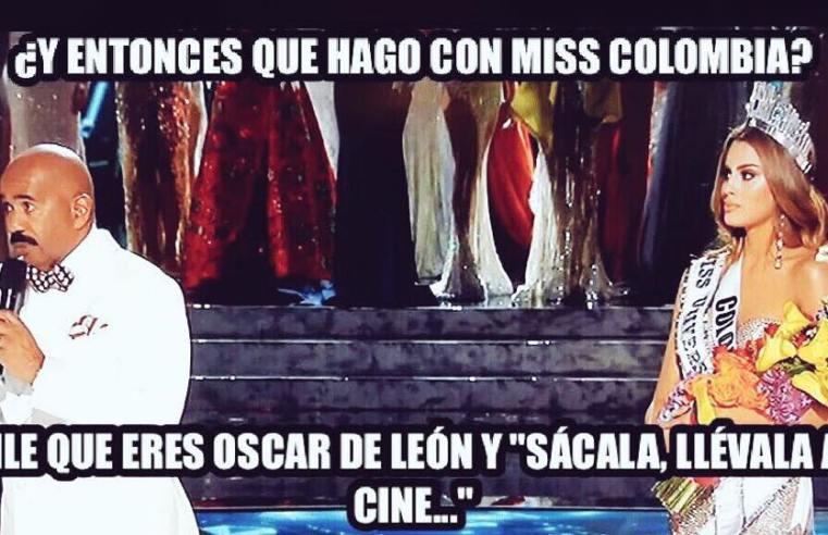 Memes del error de Steve Harvey en Miss Universo 2015