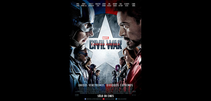 CAPITÁN AMÉRICA: CIVIL WAR de Marvel, rompe el récord en México