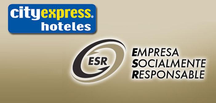 Hoteles City Express obtiene el distintivo ESR por segundo año consecutivo