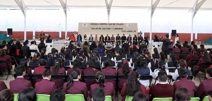 Fomentará LIBROBÚS la lectura en alumnos de La Normal Número 3