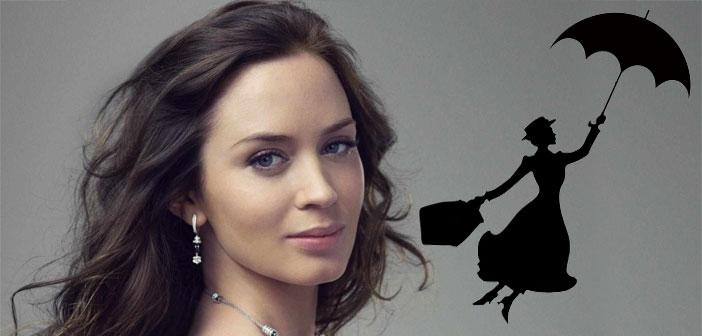 """Mary Poppins Returns"" de Disney será protagonizada por Emily Blunt Y Lin-Manuel Miranda"