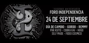 2do Aniversario Foro Independencia