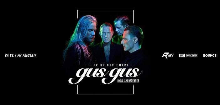 RA 98.7 presenta: GusGus en Guadalajara