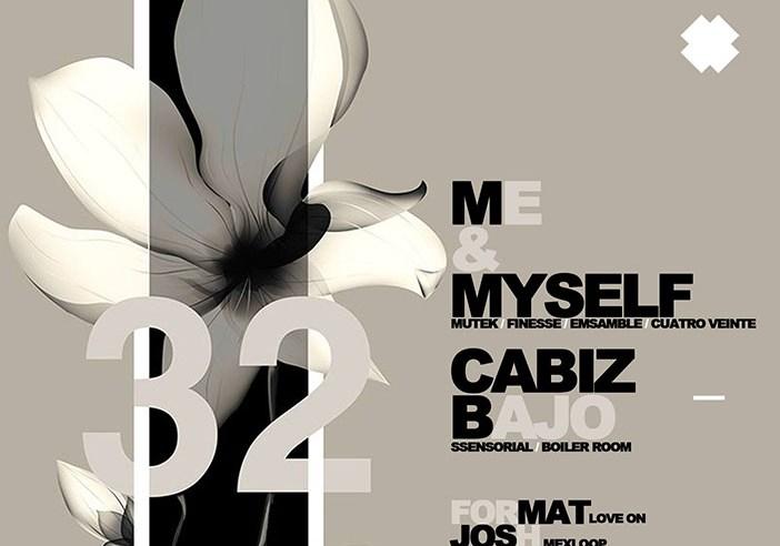 Me & Myself [Mutek] + Cabizbajo [Ssensorial] at C3 Rooftop