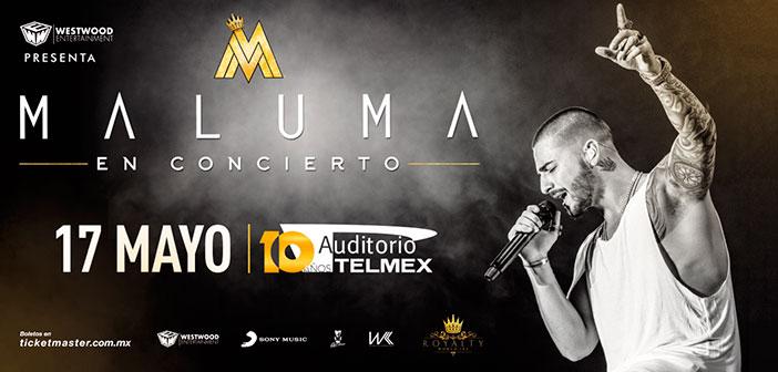 Maluma en Guadalajara 2017