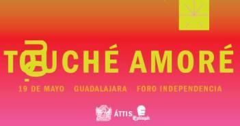 Touché Amoré en Guadalajara 2017