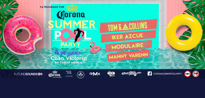 Corona Summer Pool Party 2017
