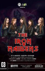 The Iron Maidens en C3 Stage 2017