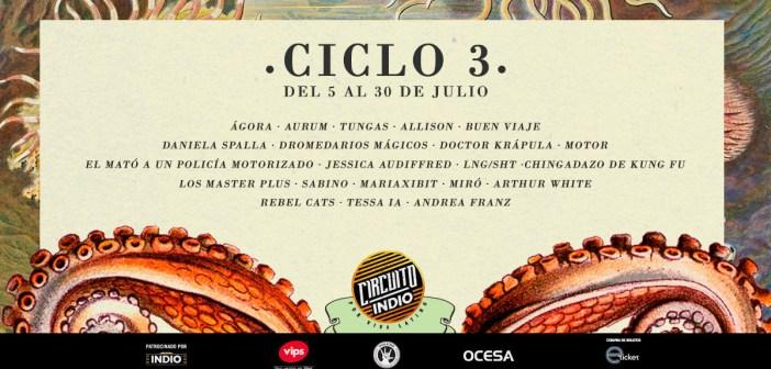 Circuito Indio Ciclo 3 2017