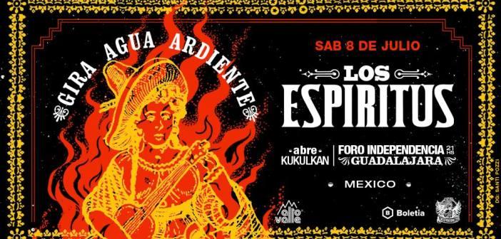 Los Espíritus en Guadalajara 2017