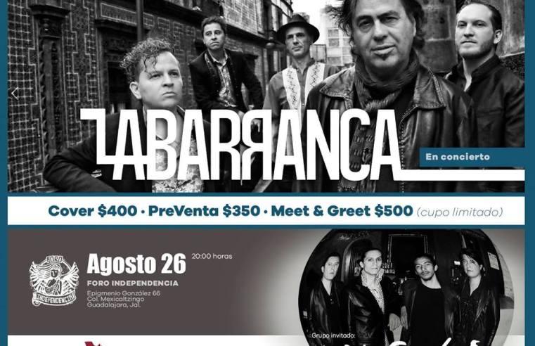 La Barranca presenta: 20 años de Tempestad