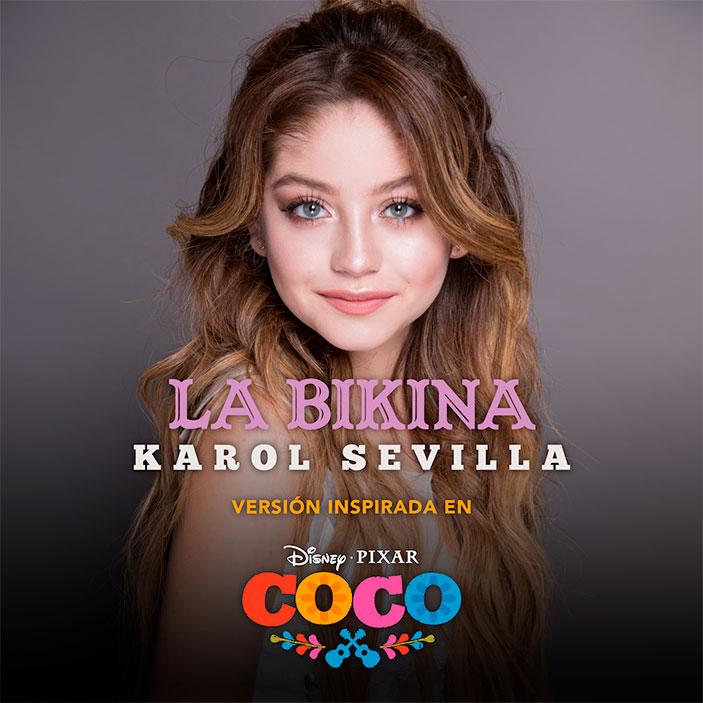 Karol sevilla interpretar una nueva versi n de la bikina - Co co sevilla ...