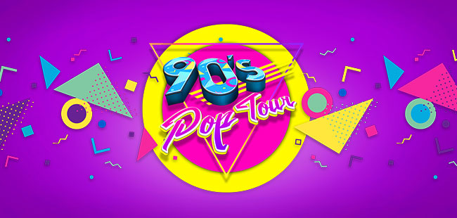 90'S POP TOUR Guadalajara 2018