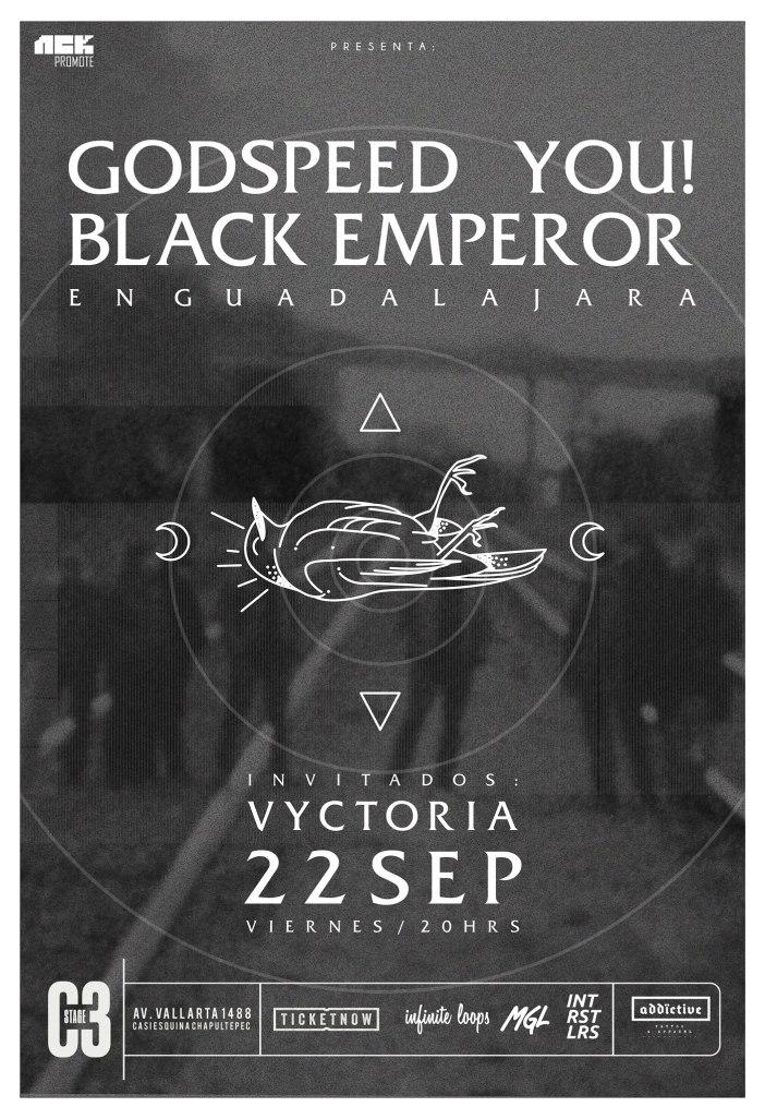 Godspeed You! Black Emperor en Guadalajara 2017