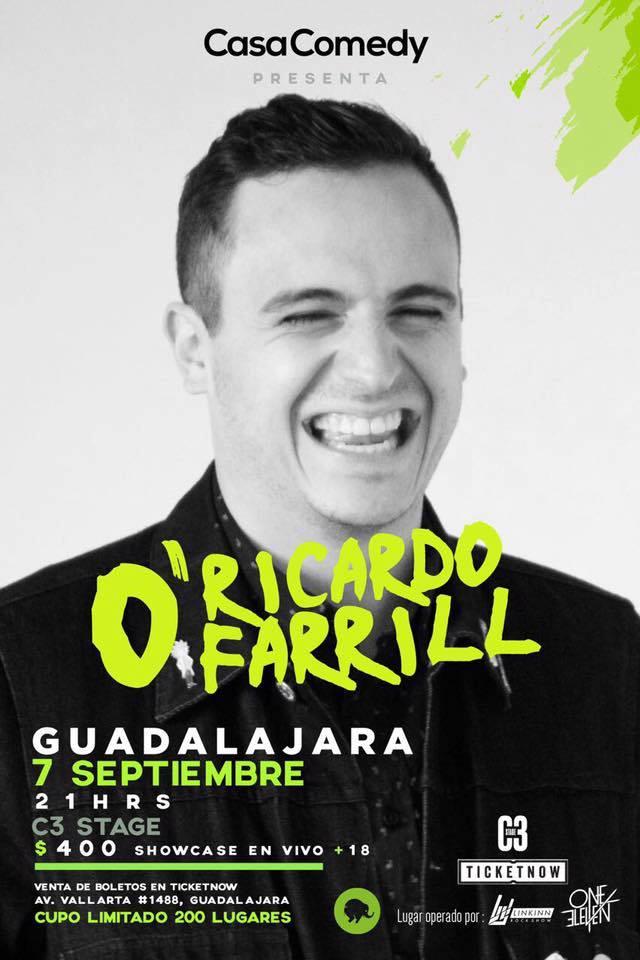 Ricardo O'Farrill en Guadalajara 2017