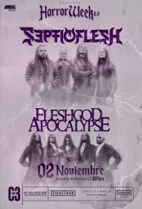 Septicflesh + Fleshgod Apocalypse en Guadalajara 2017