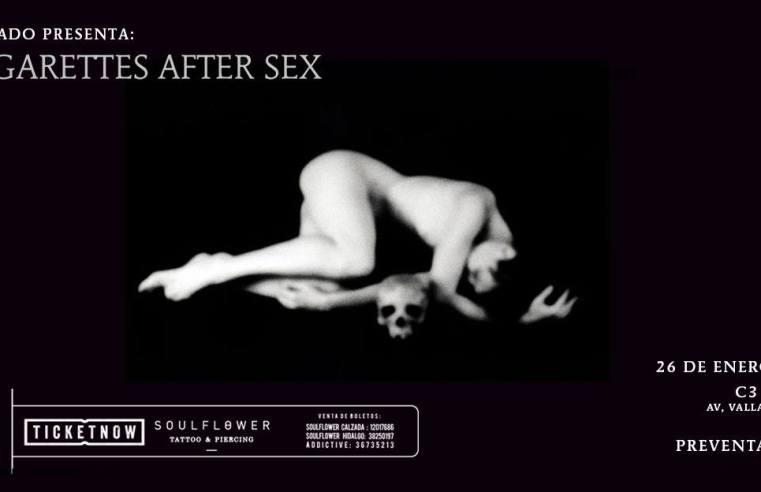 Cigarettes After Sex en Guadalajara 2018
