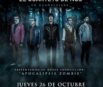 El Cuarteto de Nos en Guadalajara 2017