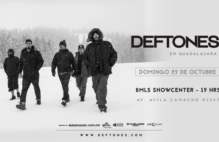 Deftones Guadalajara 2017