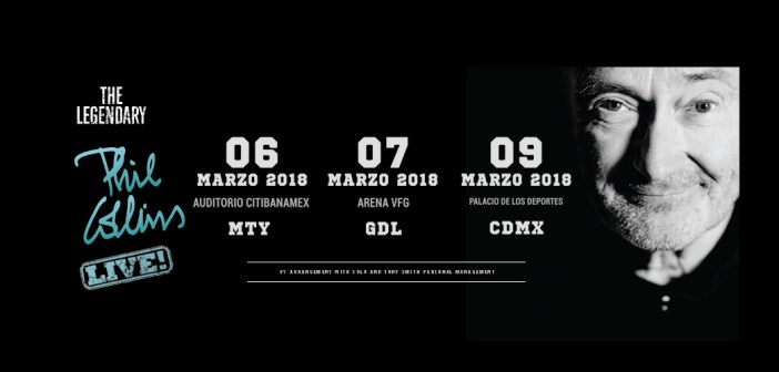 Phil Collins CDMX 2018