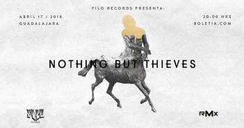 Nothing But Thieves en Guadalajara 2018