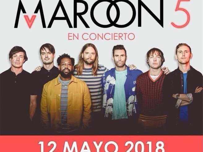 Maroon 5 Guadalajara 2018