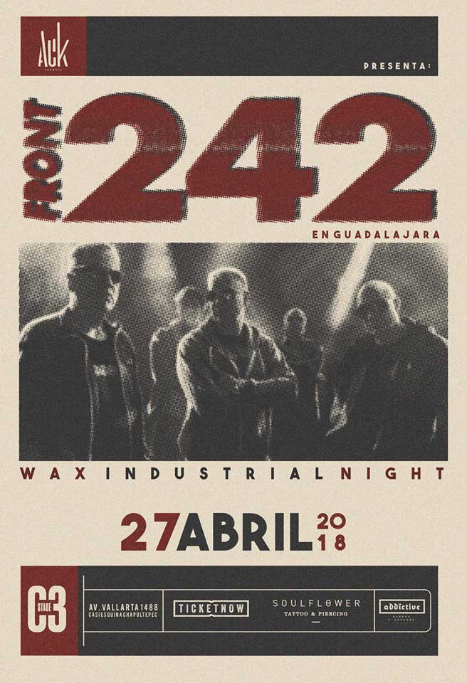 Front 242 Guadalajara 2018