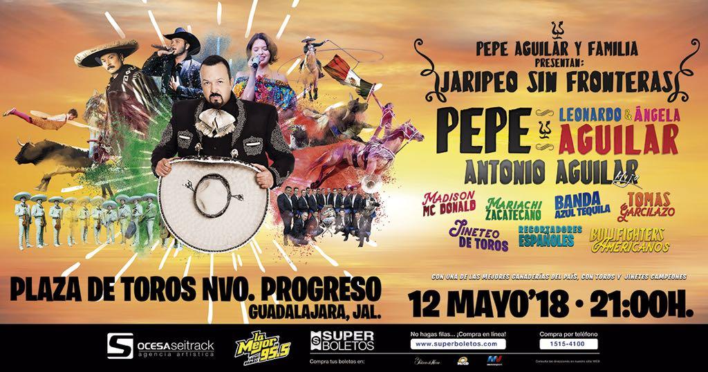 Jaripeo Sin Fronteras Pepe Aguilar 2018