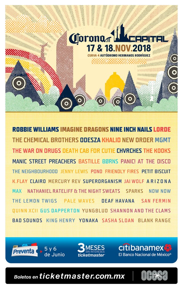 Festival Corona Capital 2018