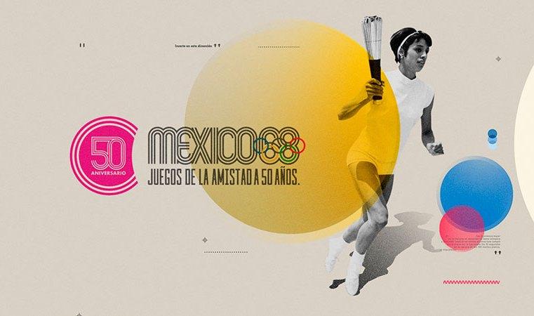 REVIVE LOS JUEGOS OLÍMPICOS DE 1968, POR CANAL ONCE