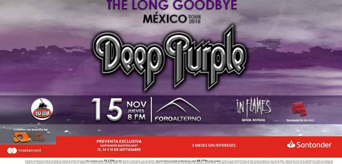 Deep Purple en Guadalajara 2018