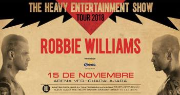 Robbie Williams en Guadalajara 2018