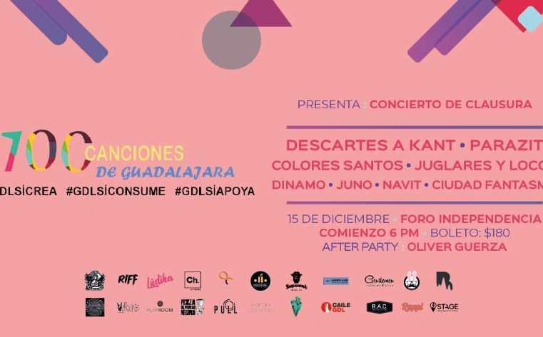 Concierto de Clausura 100 Canciones 2018