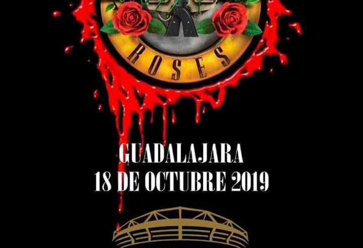 Guns And Roses en Guadalajara 2019