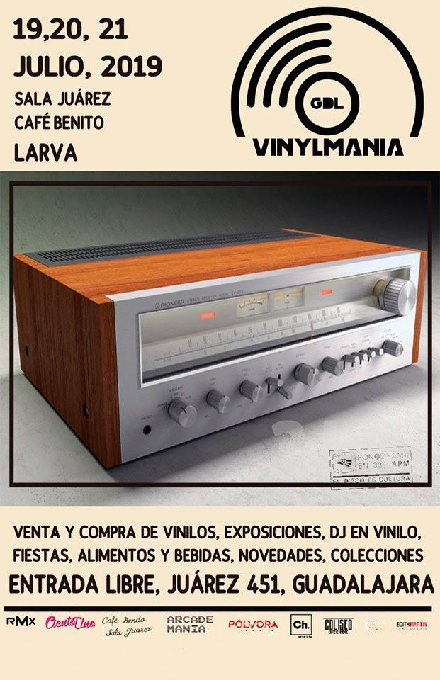 Vinylmania Julio 2019