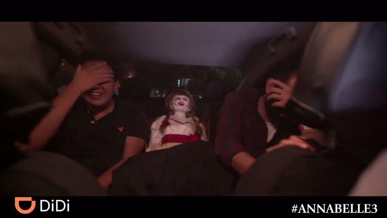 Annabelle viajó en DiDi y esto es lo que sucedió