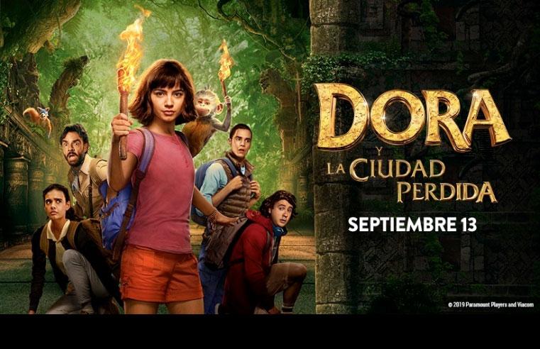 Gana Boletos para Dora y La Ciudad Perdida Premiere GDL