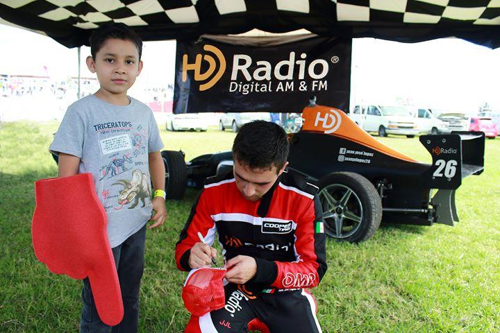 Destacada participación del piloto Juan José López y HD Radio en la Súper Copa 2019, en Guadalajara