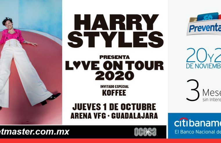 Harry Styles Love On Tour 2020 México
