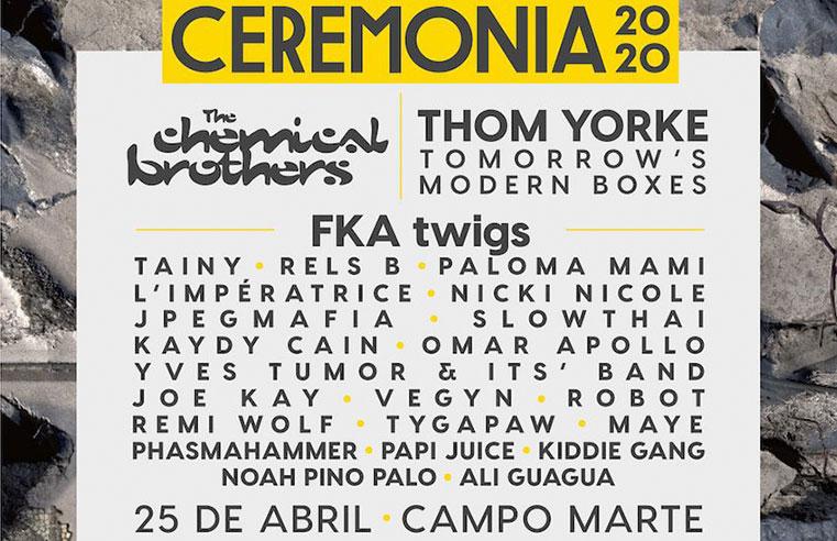 Festival Ceremonia 2020 CDMX