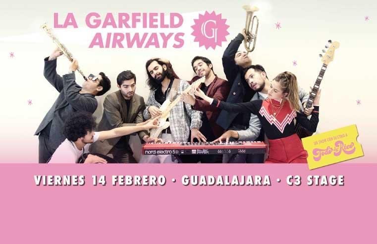 La Garfield en Guadalajara 2020