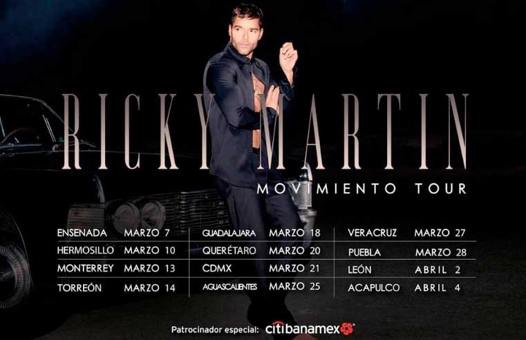 Ricky Martin Guadalajara 2020