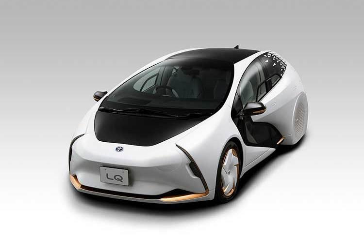 Prototipo de Automóvil Eléctrico LQ de Toyota