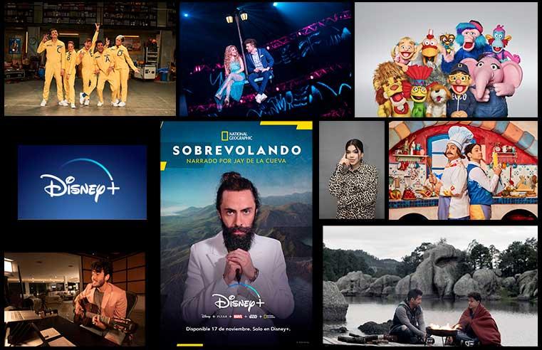 Disney+ Presenta su Contenido Original para Latinoamerica