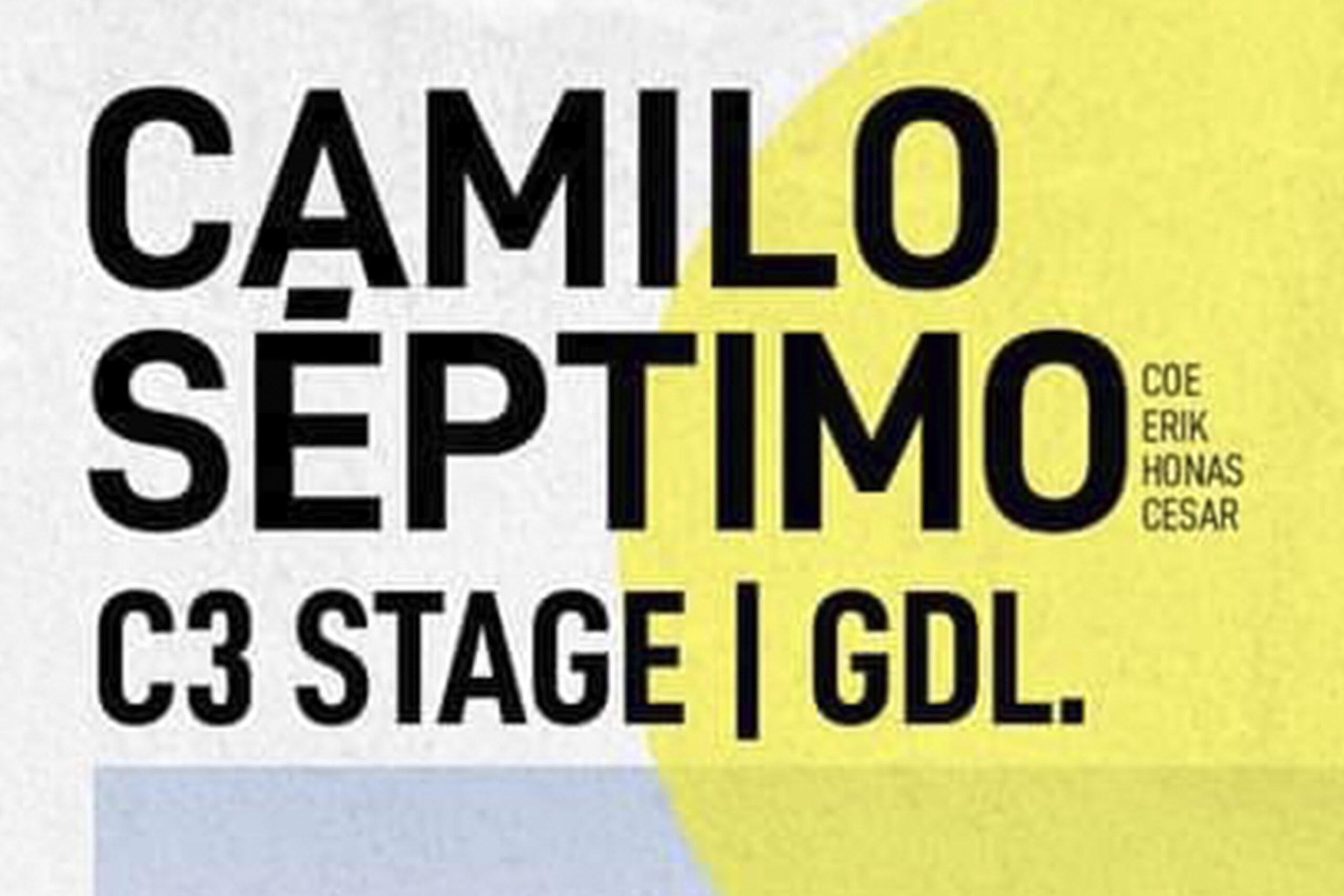 Camilo Séptimo en Guadalajara