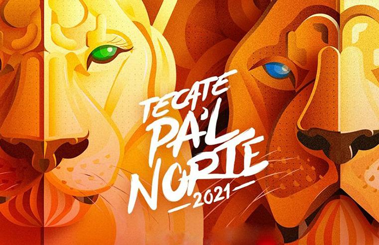 Tecate Pa´l norte 2021