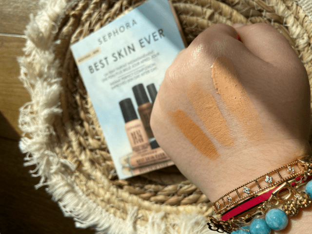 I tried the new Sephora Collection Best Skin Ever Foundation